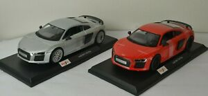 Maisto Audi R8 V10 Plus Diecast Model Sports Car Supercar Kids Toy 2 Colours NEW