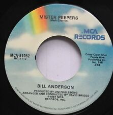 Country 45 Bill Anderson - Mister Peepers / How Married Are You, Mary Ann On Mca