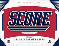 2018 Score Gold Parallel Football Cards Pick From List 1-250