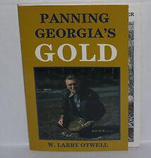 RARE Panning Georgia's Gold Panner's Guidebook Dahlonega Georgia Otwell Book