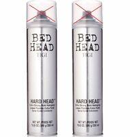 Tigi Bed Head Hard Head Spray Extra Strong Hold Hairspray 10.6 oz Pack of 2 *