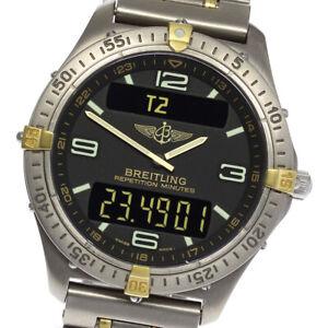 BREITLING Aerospace F65062 Gray Dial Quartz Men's Watch_620431