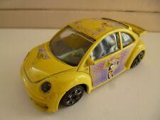 VW 1300 Volkswagen Kever New Beetle Cup - 1/43 - Yellow - Bburago - Italy