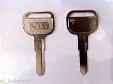 ISUZU Dual Twin Pack Key Blanks Truck Commercial 80's 90's