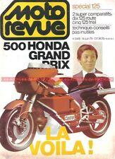 MOTO REVUE 2418 HONDA CG 125 CM SUZUKI GTE YAMAHA RDX RSDX TY KAWASAKI KH 1979