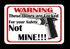 For Your Safety Decal Style 2 Colt 45mm handgun m1911 m1902 m1903 2 for 1 !!!!!