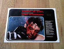 TORO SCATENATO fotobusta poster Robert De Niro Scorsese Box Raging Bull M35