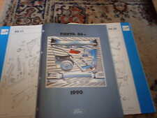 Ford Crash Parts Catalogue Fiesta 1989 on inc RS