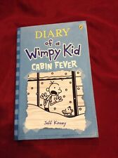 Diary Of A Wimpy Kid Cabin Fever By Jeff Kinney Softcover Book