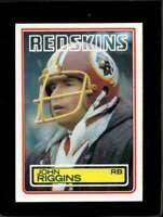 1983 TOPPS #198 JOHN RIGGINS EX REDSKINS DP HOF  *X3958