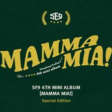 Sf9 Mamma Mia 4th Mini Album Special Edition CD Booklet Poster Etc KPOP
