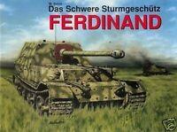 Das schwere STURMGESCHÜTZ FERDINAND Jagdpanzer Elefant (seltene Bilder) NEU