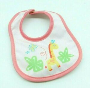Hasbro Baby Alive Learn to Potty Pink Giraffe Bib 2007 Doll Outfit Clothes
