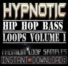 SYNTH BASS LOOP WAV SOUNDS SAMPLES Hip Hop Soul Funk Akai Reason Fl Studio Logic
