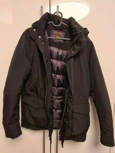 Winterjacke John Woolrich Herren Größe M schwarz tailliert - kaum getragen