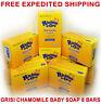 GRISI CHAMOMILE BABY SOAP SOFT FOR BABIES 3.5oz Hand Face MANZANILLA Jabon 8Bars