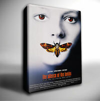 SILENCE OF THE LAMBS FILM POSTER GICLEE CANVAS WALL ART PRINT *Choose your size