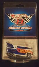 2013 RLC 13th Nationals Convention Volkswagen Drag Bus Hot Wheels FREE SHIPPING