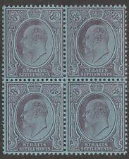 KAPPYSSTAMPS 298  BRITISH  MALAYA SCOTT 114    2-MNH 2-MH BLOCK