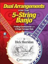 Dual Arrangements For The 5 String Banjo Dick Sheridan Book NEW!