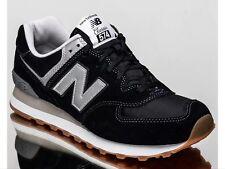 NEW Balance sneaker uomo ML574HRM Nero UK 11 EU 45.5 NUOVO CON SCATOLA 574 Classic