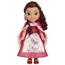 "Beauty & The Beast Belle Red Dress/Cape 14""  Doll - Brunette Hair Disney"