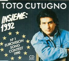 TOTO CUTUGNO - Insieme: 1992 3TR CDM 1990 / EUROVISION Winner