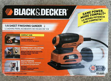 Black and Decker 1/4 Sheet Finish Sander QS900