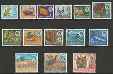 Southern Rhodesia 1964 Complete set SG 92-105 Mnh.