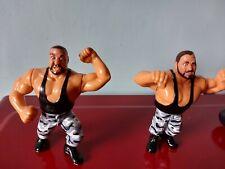 Vintage WWF - The Bushwackers - hasbro wrestling figure Action Figures