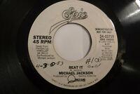 Michael Jackson, Beat It, Epic 34-03759, 1983, DJ PROMO Synth Pop, Pop Rock