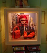 LIGHTED STORE FRONT WINDOW American Girl AG Mini's PETITE BOUTIQUE Illuma Room