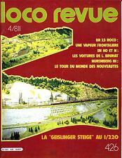 LOCO REVUE 426 DE 1981. LES VOITURES BRUHAT, BR 23 DE ROCO