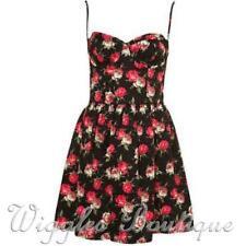 Cotton Blend Floral Casual Sundresses for Women