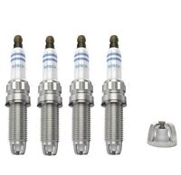 4 x BOSCH SPARK PLUGS FITS BMW 1 / 3 / 5 SERIES E81 E82 E87 E88 E90 E91 E92 E93