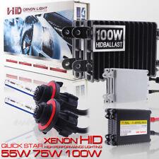 55W 75W 100W H13 9008 Xenon Headlight Conversion Bulbs HID KIT Hi/Lo Beam Light