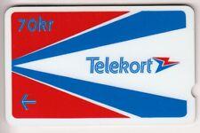 EUROPE TELECARTE / PHONECARD .. NORVEGE 70KR GPT RARE N°1 TEST 00020507 NOTCHED