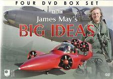 JAMES MAY'S BIG IDEAS - 4 DVD BOX SET MAN VS MACHINE +MORE James May Collection