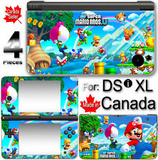 Super Mario NEW CUTE SKIN VINYL STICKER COVER For NINTENDO DSi XL