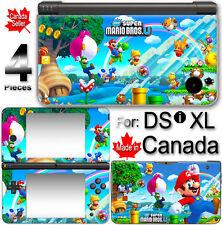 Super Mario NEW CUTE SKIN VINYL STICKER COVER For NINTENDO DSi XL