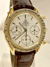 Omega Speedmaster Chronograph 18k solid Gold, 39mm, Automatic