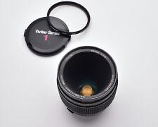 Vivitar Auto Macro 55mm f2.8 Lens OM Mount Komine Classic 1/1 Caps Filter (3831)