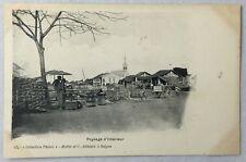 early 1900s Antique Postcard Saigon Vietnam Paysage d'Interieur