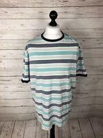 PENGUIN T-Shirt - Size XXL - Striped - Great Condition - Men's