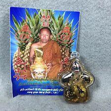 Hoon Payon LP Sutat Amulet Thai Spirit Fetish Statue Voodoo Talisman Pendant #