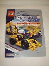 LEGO Master Builder Instruction Book Manual Create n Race 2000 PB EXC