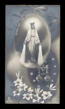 """santino-holy card """"ediz.NB n.753 MADONNA DELLA MEDAGLIA"""