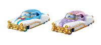 Tomica Takara Tomy Disney Motors Dream Star Donald Duck Daisy 2x Set Toy Car