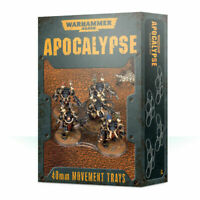 Warhammer 40k: Apocalypse 40mm Movement Trays - Brand New! 65-22
