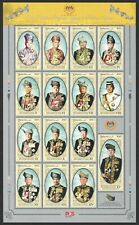 MALAYSIA 2019 HIS MAJESTY THE YANG DI- PERTUNA AGONG SPECIAL SOUVENIR SHEET MINT